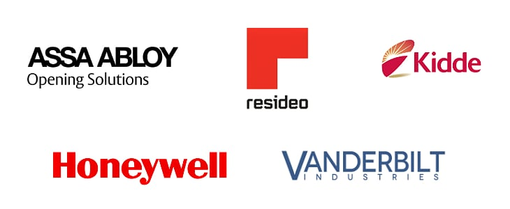 Commercial Security and Control Design - Assa Abloy, Resideo, Kidde, Honeywell, Vanderbilt Industries